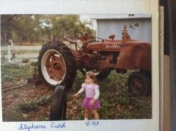 Me Sept. 1973 on Fulmer Farm